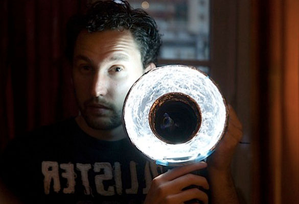 how to make a diy ring flash tutorial