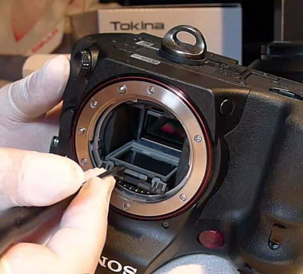 تعمیرات در نمایندگی دوربین سونی